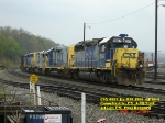 CSX 6927  Ex- WM 4355  GP40-2   April 28, 2007