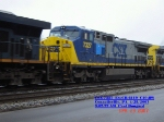 CSX 7327  Ex- CR 6119  C40-8W   April 28, 2007