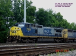 CSX 7330  Ex- CR 6126  C40-8W   June 25, 2007
