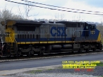 CSX 7373  Ex- CR 6227  C40-8W   April 27, 2007