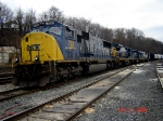 CSX 768  SD70MAC  Upgraded To SD70ACe    12/24/2006