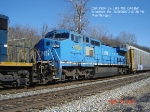 CSX 7924  Ex- LMS 706 C40-8W  March 20, 2007