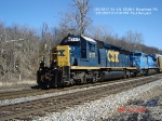 CSX 8117  Ex- LN 8117  SD40-2   March 20, 2007