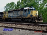 CSX 8137   Ex- L&N 8137  SD40-2    June 25, 2007
