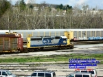 CSX 8140  Ex- L&N 8140  SD40-2    April 27, 2007