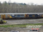 CSX 8241  Ex- L&N 3613  SD40-2    April 28, 2007