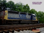 CSX 8466  Ex- MP 752  SD40-2    June 25, 2007