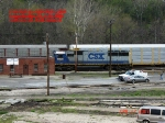 CSX 8620  Ex- SBD 8620  SD50   April 27, 2007
