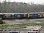 CSX 8833 Ex- 6442  SD40-2    April 28, 2007