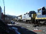 CSX 2256   Road Slug   Feb 24, 2007