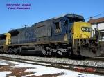 CSX 7630   C40-8   Feb 24, 2007