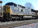 CSX 9049   C44-9W   Feb 24, 2007