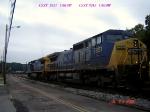 CSX 7851  C40-8W  07/29/2006