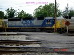 CSX 8376   ex - C&O  SD40-2  07/29/2006