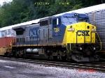 CSX 7364  C40-8W   07/29/2006