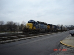 CSX 8241 Ex- LN 3613  SD40-2  April 17, 2007