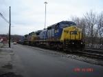 CSX 9009  C44-9W  April 18, 2007