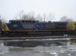 CSX 324     GE AC44CW      February 13, 2008