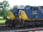 CSX 272  GE  AC44CW        CSX 699  GE CW44-6   Diversity In Motion      May 24, 2008