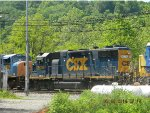CSX 2676 GE GP38-2 5/24/2014  Green Junction