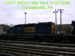 CSXT 8053  SD40-2   11/27/2005