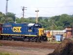 CSXT 6398  GP40-2