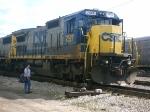 CSXT  7527  C40-8