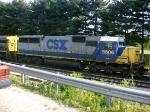CSX  8606  SD50