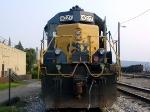 CSXT 8027  SD40-2  07/30/2005