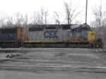 CSX 8418    Ex- CO 7467    SD40-2    Mar 17, 2007
