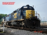 CSX 8030  Ex- LN 8030  SD40-2  May 19, 2007