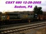 CSXT 680     CW44-6      12/28/2005
