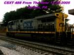 CSXT 488 Rear Shot