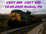 CSXT 488  CSXT 680