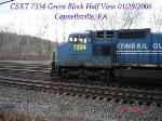 CSXT 7334