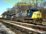 CSXT 353 HLCX 8159
