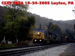 CSXT 7856  10-24-2005