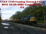 CSXT 9045     10-29-2005