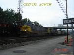 CSX 552  AC44CW  07/15/2006