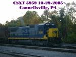 CSXT 5959   10-29-2005
