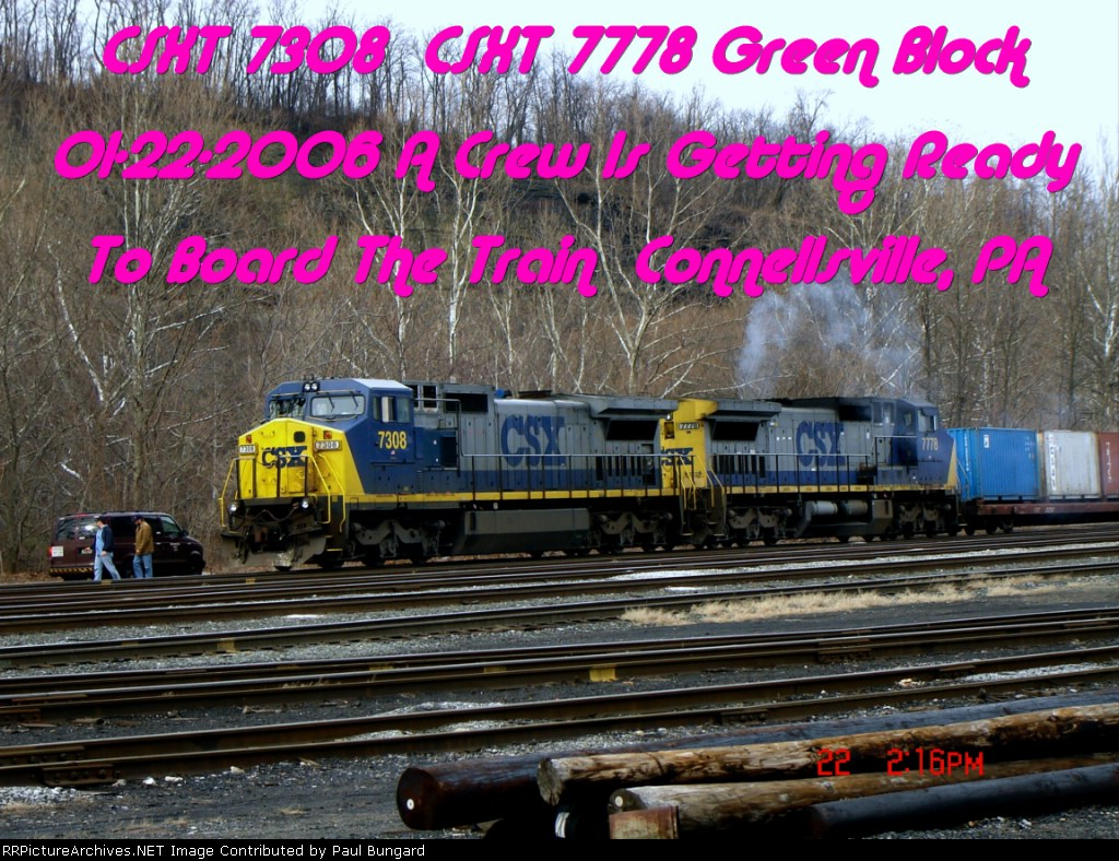 CSXT 7308