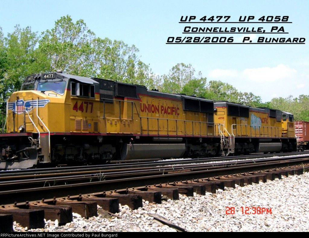 UP 4477       SD70M       05/28/2006