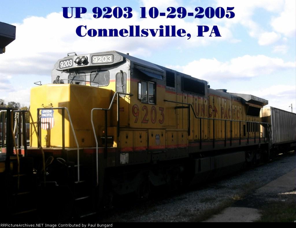 UP 9203       C40-8      10/29/2005
