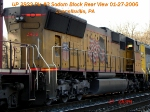UP 3922       SD70M      01/27/2006