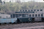 1279-12 C&NW (ex-M&StL) Cedar Lake Yard and shop after abandonment