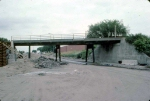 1284-04 BN (ex-NP) bridge replacement project at East Hennepin and Stinson NE