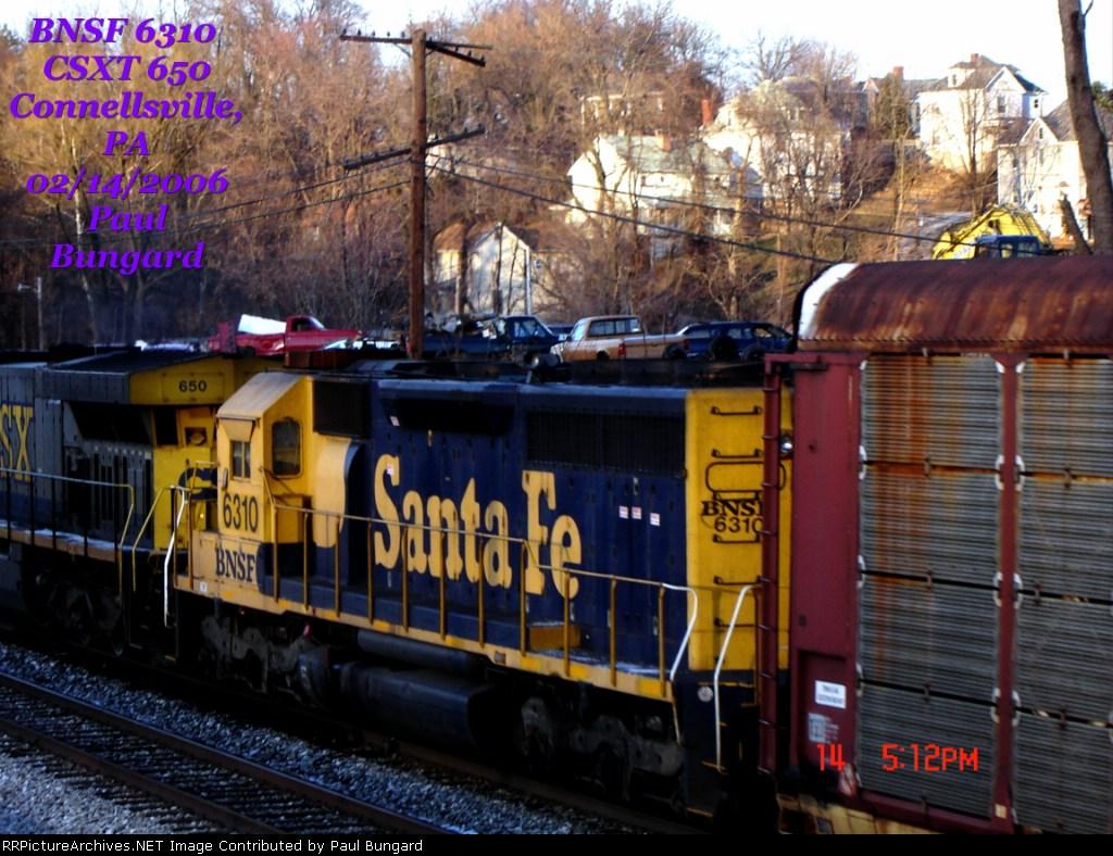 BNSF 6310 Pic # 2
