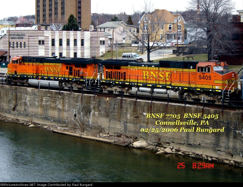 BNSF 7705   BNSF 5405