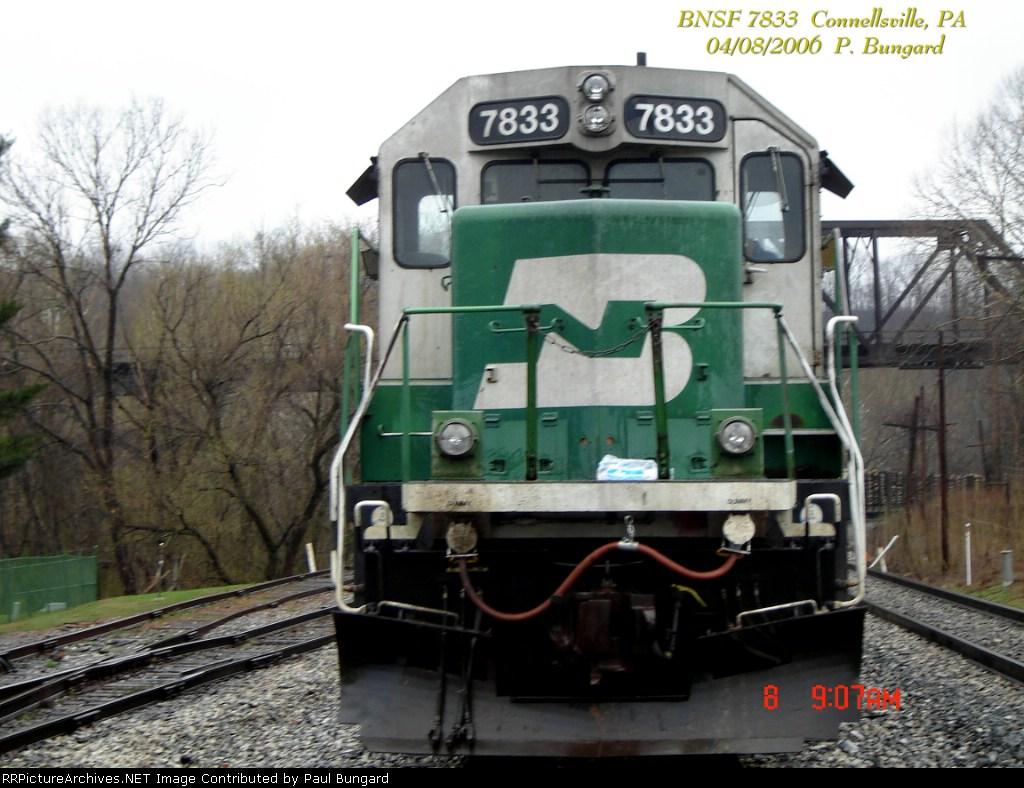 BNSF 7833   SD40-2  04/08/2006