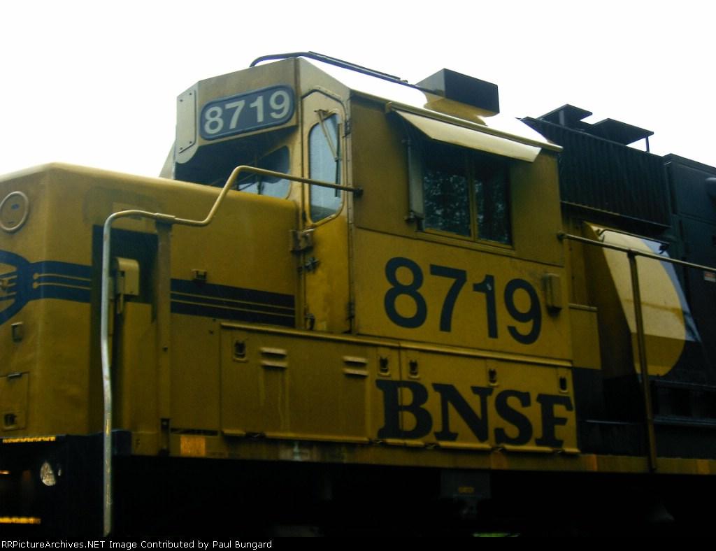BNSF 8719 Cab